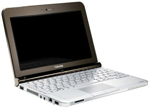 Toshiba Mini NB200 Netbook Includes Fat, 9-Cell Battery