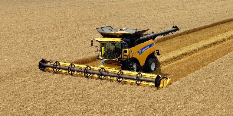 The World's Most Badass Combine Harvester Will Shuck Your Mind