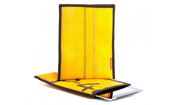 This Case Made of Old Fire Hoses Will Keep Your iPad Dry