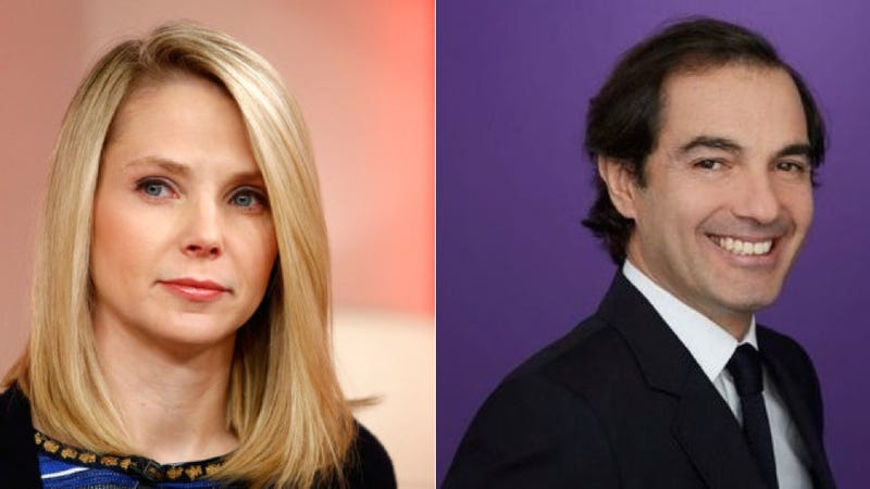 Marissa Mayer's Sidekick Made $58 Million Just by Getting Fired