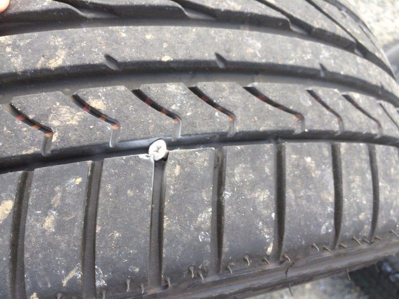 """Fiesta ST Life - Tire got """"screwed"""""""