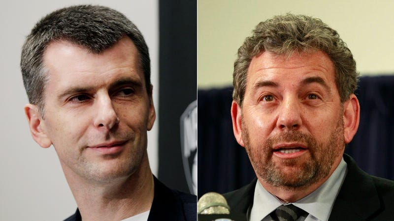 James Dolan Complained To The NBA About Mikhail Prokhorov's Bullying