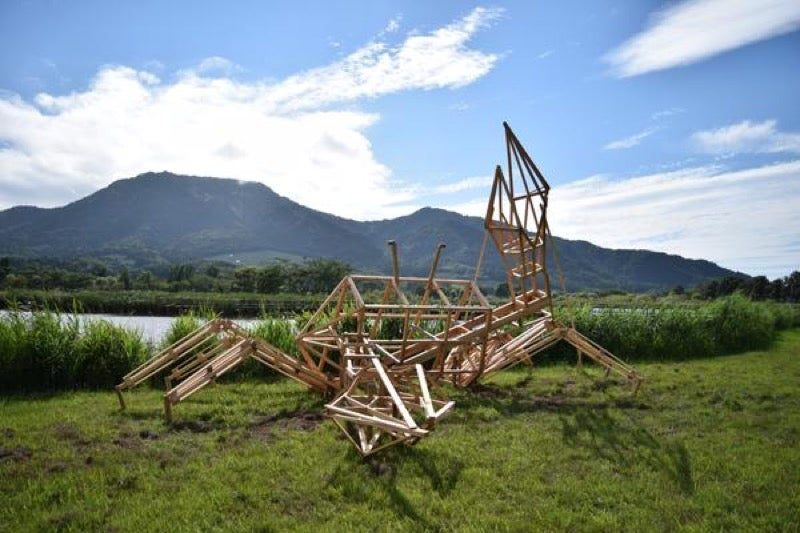 Straw Dinosaurs Appear in Japanese Fields, Try To Eat Humans