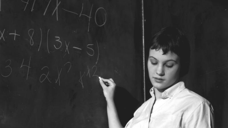 How to Be Good at Math as a Woman: Pretend You're Someone Else