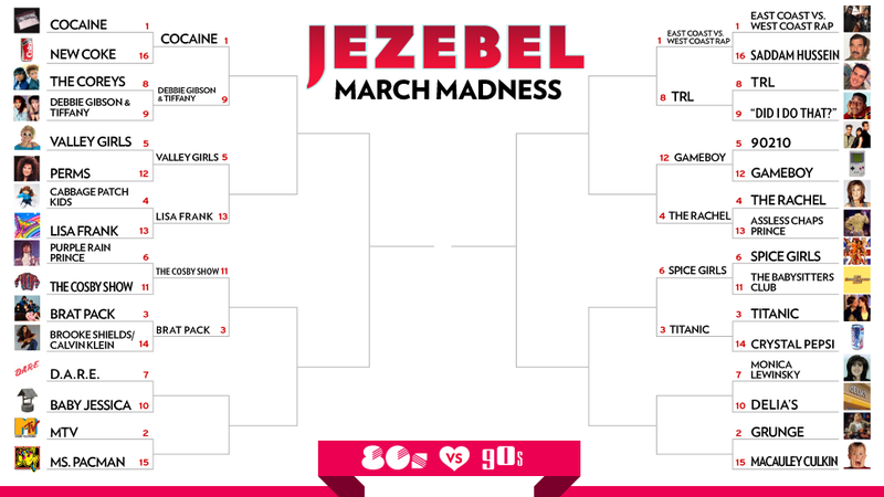 March Madness Day 7: I Did Not Have Sexual Relations With That Bracket
