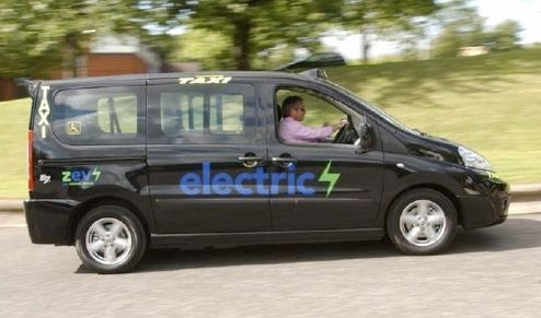 Electric Peugeots Trying To Edge Out London Taxis
