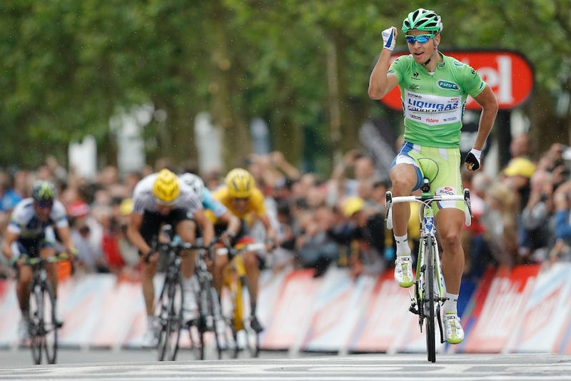 At The Tour De France, A Star Rises (Then Does A Stupid Celebration)