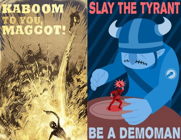 Team Fortress 2 Propaganda Invokes The Spirit Of '42