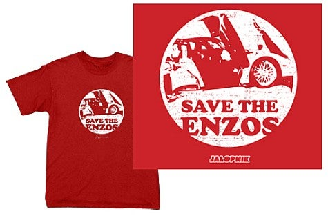 You've Done it Now: Save the Enzos!