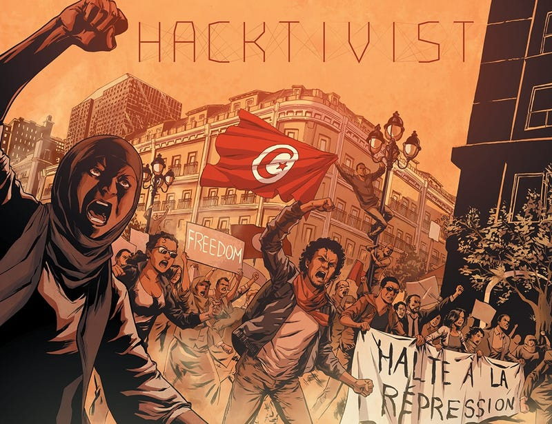 What if Facebook was used for good? Read the first issue of Hacktivist!