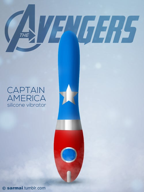 These Avengers dildos are presumably Earth's Mightiest Vibrators