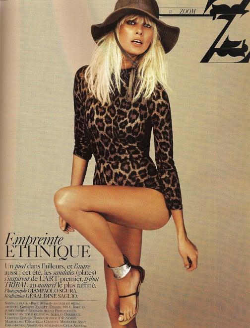 French Vogue Pushes Anti-Pants Agenda
