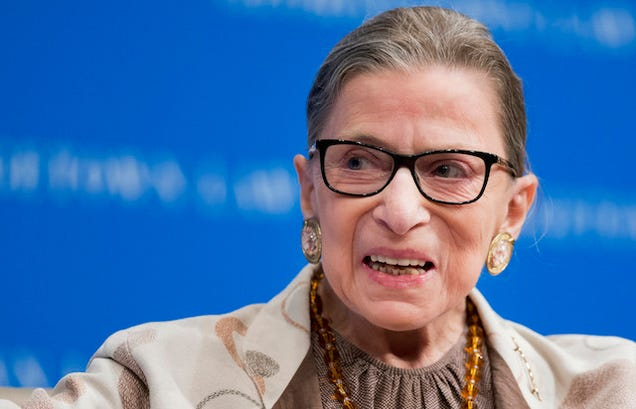 Ruth Bader Ginsburg Will Be Happy When There Are 9 Men On The Court
