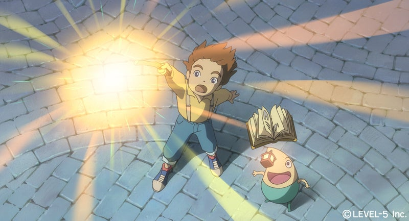 First Studio Ghibli/Level 5 Screens