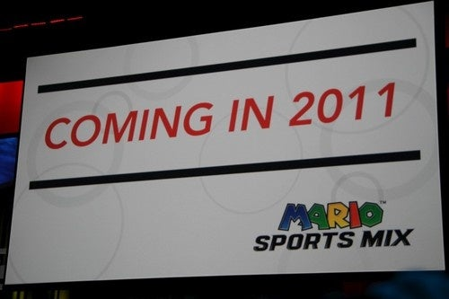 Mario Sports Mix 2011 Coming in 2011
