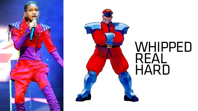 Willow Smith vs. M. Bison In Fashion Battle of the Decade
