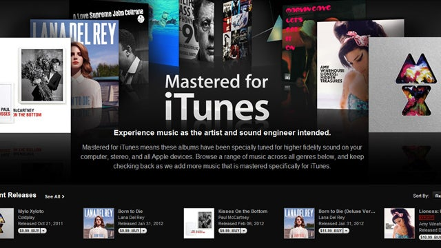 "Apple Now Selling Low Bitrate, High Quality ""Mastered for iTunes"" Tracks"