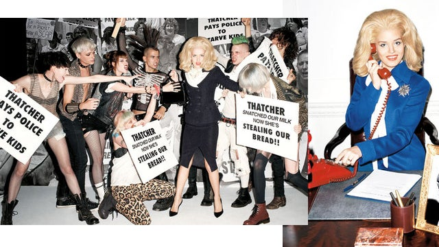 Terry Richardson Shoots Georgia May Jagger Fighting Hordes Of British Youths