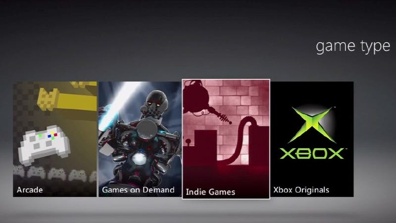 Indie Developers Unhappy with their Placement in the New Xbox Dashboard