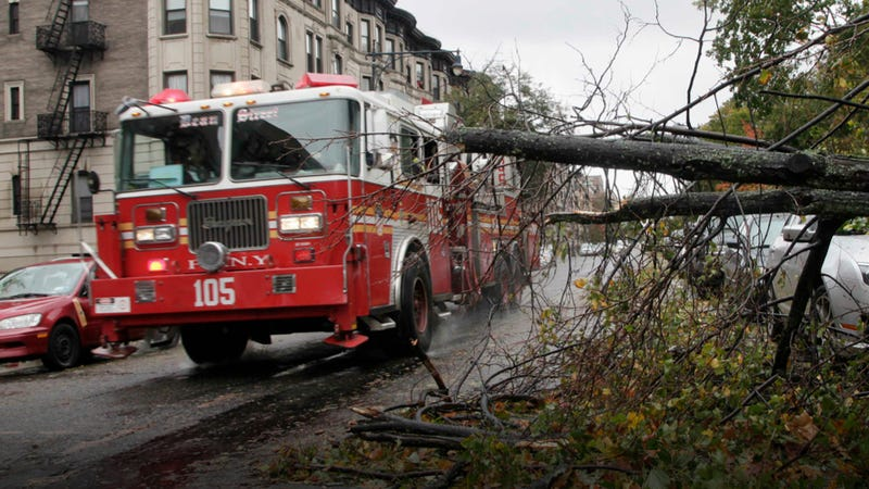 This Fire Department Donated A Truck To Firefighters In Queens That Lost Everything