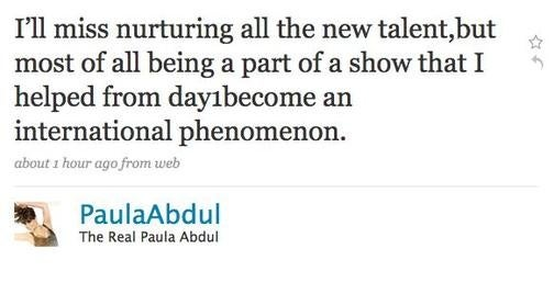 Paula Abdul Announces She's Leaving Idol, Bonnie Fuller Says She's Lying