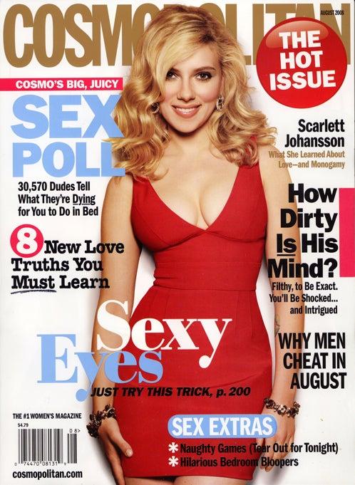 Cosmo's August 'Conversation Starter' Might Start Some Pretty Strange Conversations!