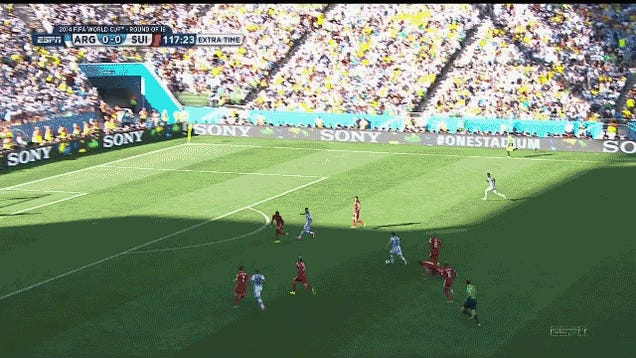 The Last Five Minutes Of Argentina-Switzerland Were Bonkers