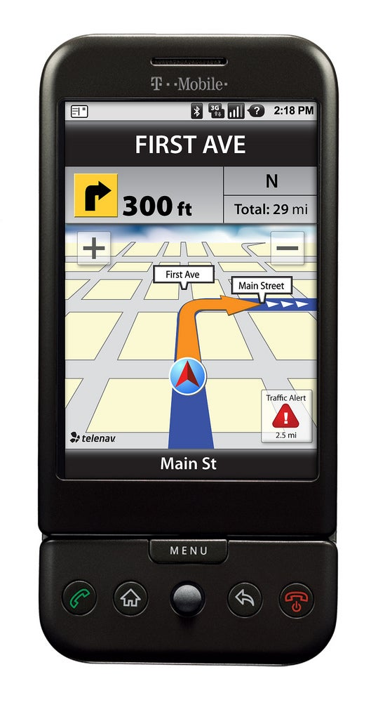 TeleNav Brings Turn-By-Turn GPS to Android and the G1