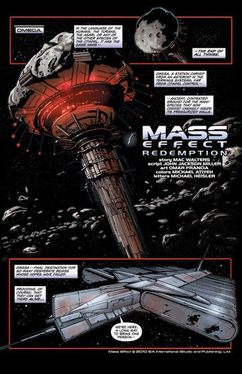 Get an Advance Peek at the Mass Effect Comic Book
