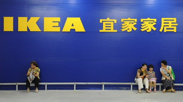Old People Go Looking For Love At Shanghai's IKEA