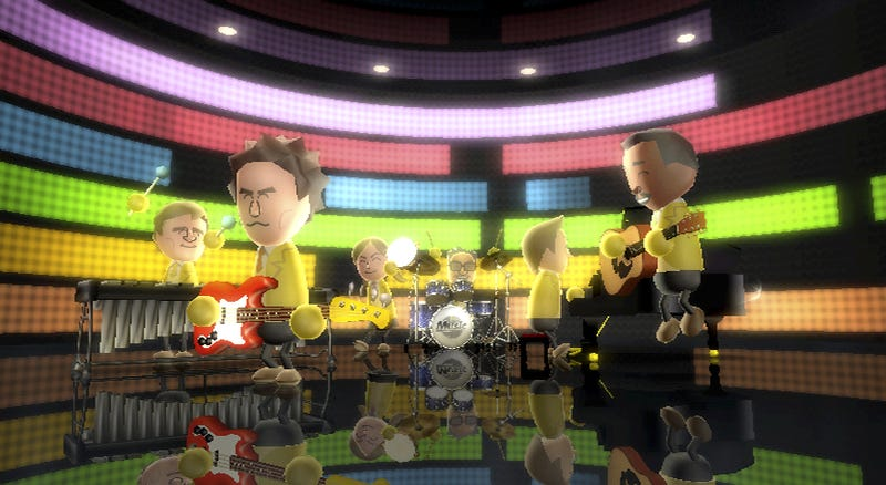 Get Out Your Air Guitar, New Wii Music Screens