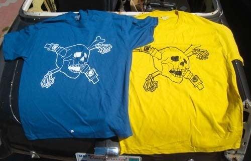 Another Batch Of Driveshaft Through The Skull Shirts Available!