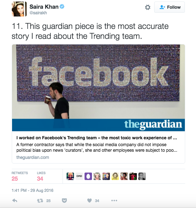 The New Yorker's Social Media Editor Rages Against Working at Facebook in Twitter Rant
