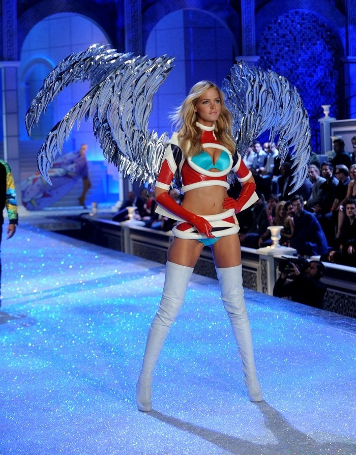 Just how superheroic was the Victoria's Secret superhero fashion show?