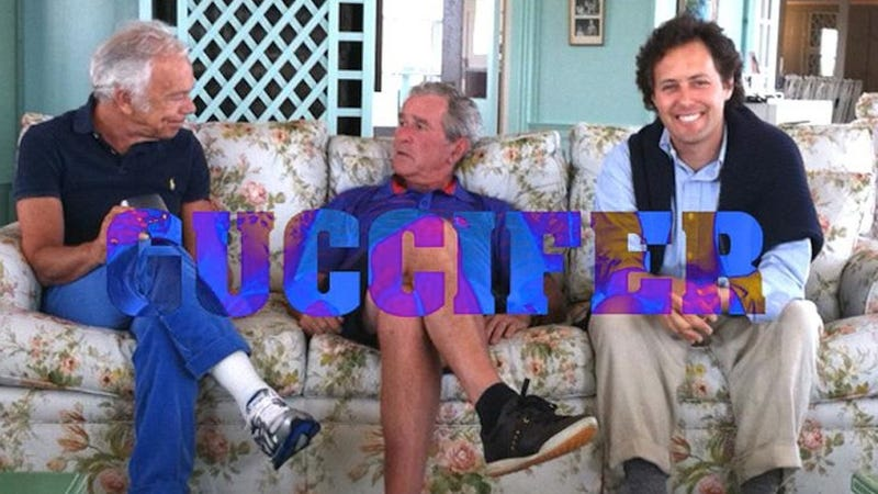 Hacker Exposes Bush Family Emails, Photos, and George W. Bush's Amazing Self-Portraits