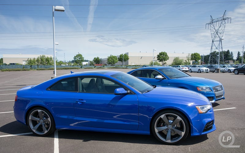 Audi Exclusive Nogaro Blue Rs 5 And Sprint Blue S5