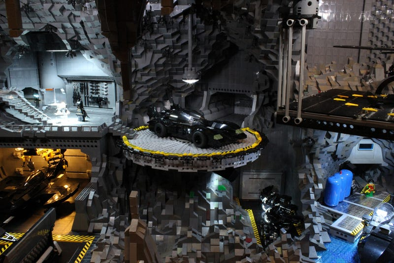 You Have to See This Incredible LEGO Batcave. No Excuses.