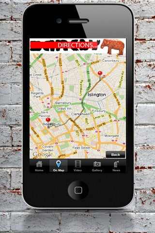 Banksy iPhone App Gallery