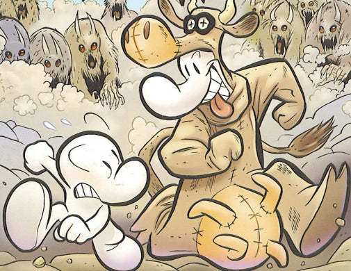 We talk to cartoonist Jeff Smith about the 20th anniversary of Bone