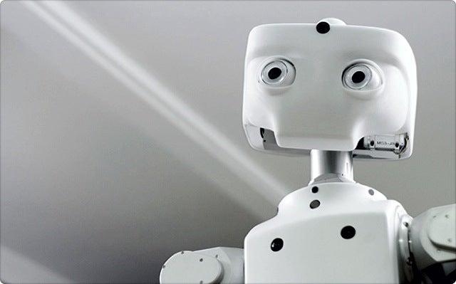Mobility Master M1 Robot Has 80s Era Movie Star Looks