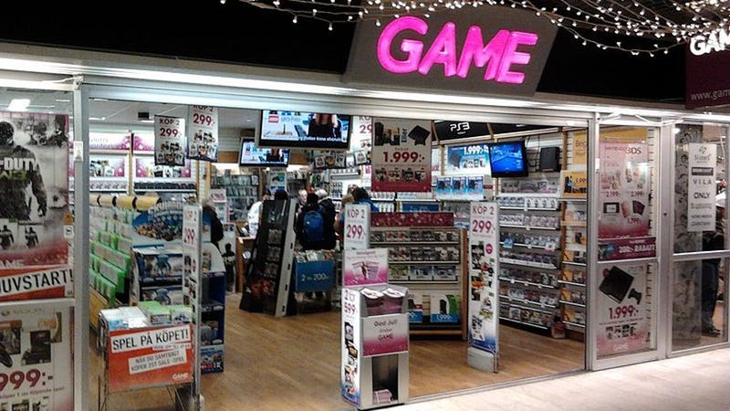 UK Game Stores Saved From Complete Annihilation