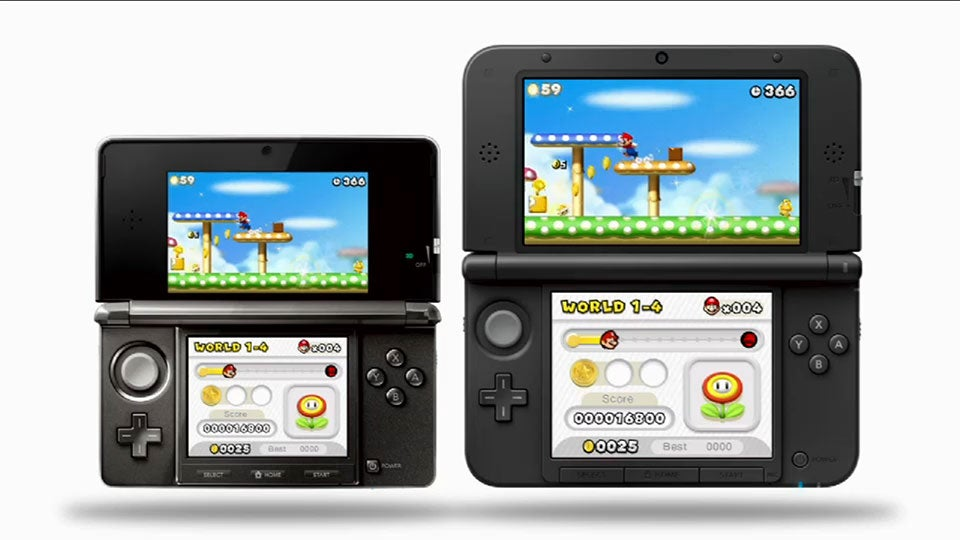 Nintendo Announces A New Bigger 3ds Meet The 3ds Xl