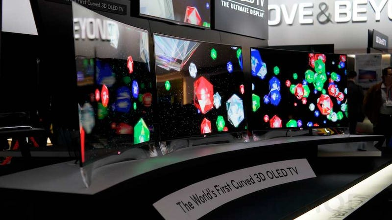 LG Curved 3D OLED Hands-On: An Imax For Your House