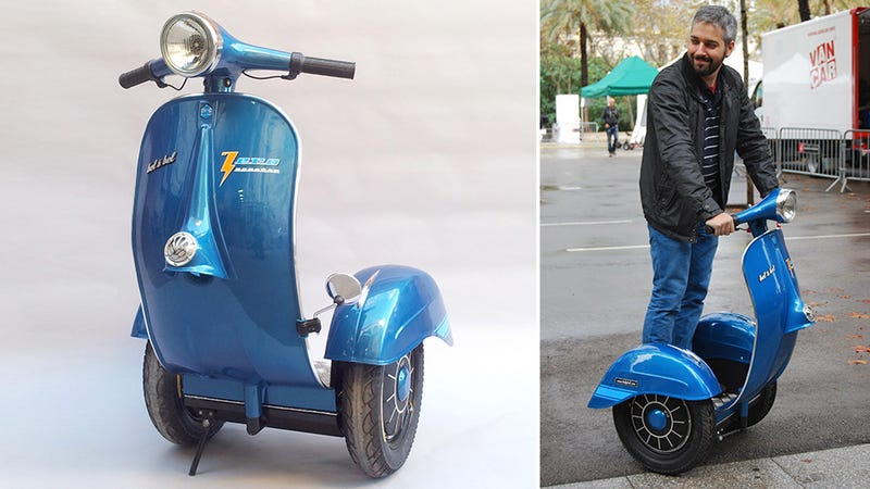 A Vespa Had to Die For the Segway to Look Cool