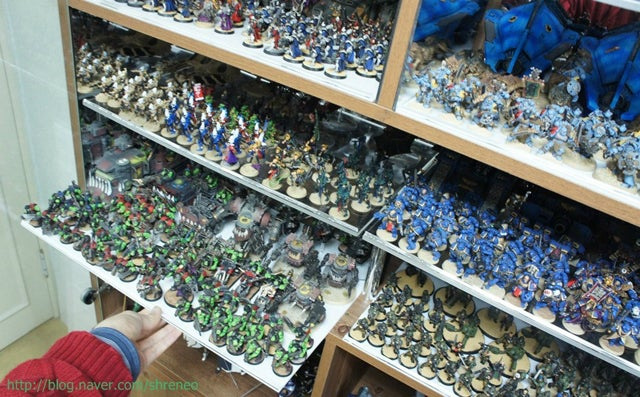 Check Out This Amazing Warhammer 40K Collection from Korea