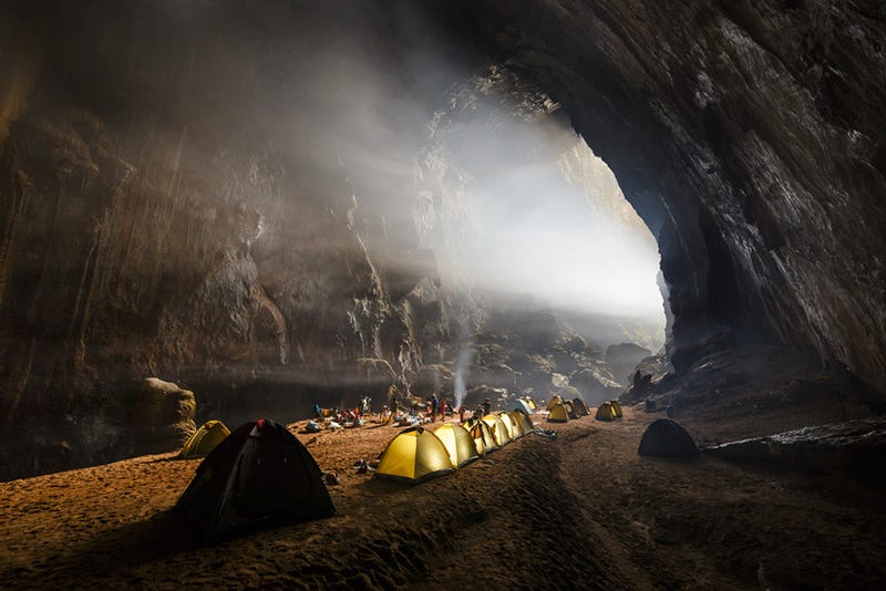 Otherworldly Photos of the World's Largest Cave Make Humans Seem Puny