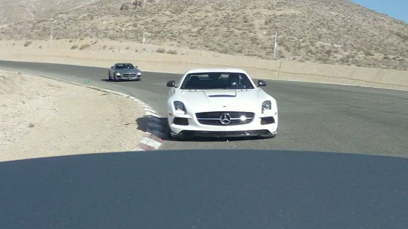 2014 Mercedes-Benz SLS AMG Black: An Orgasm With Gullwings