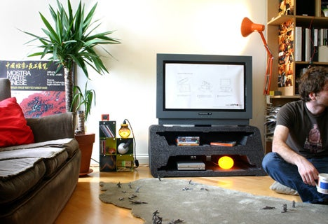 First Useful TV Packaging In History Transforms Into a TV Stand