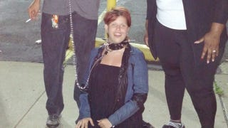 Woman Who Was Walked On A Leash