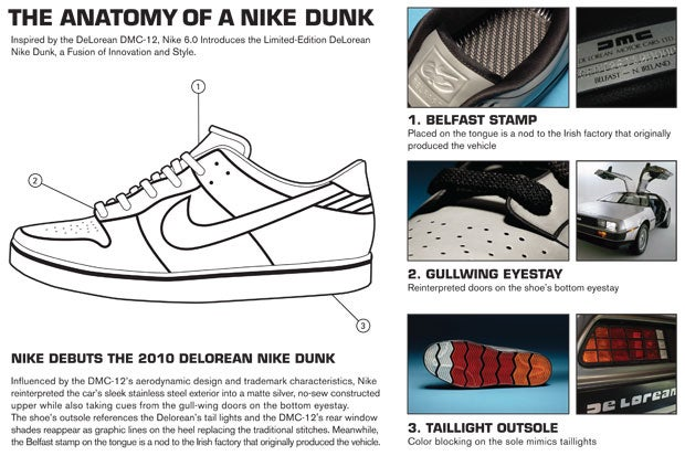 These Nikes Were Inspired By The DeLorean